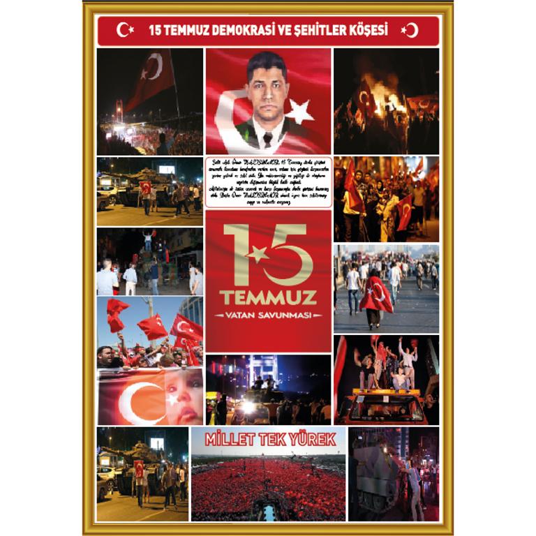 15 TEMMUZ ŞEHİTLERİ