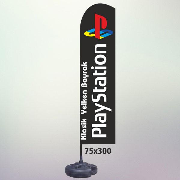 PLAJ BAYRAK 75X300