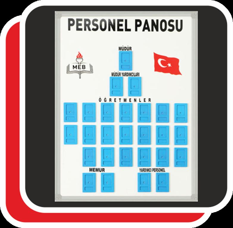 OKUL PERSONEL PANOSU