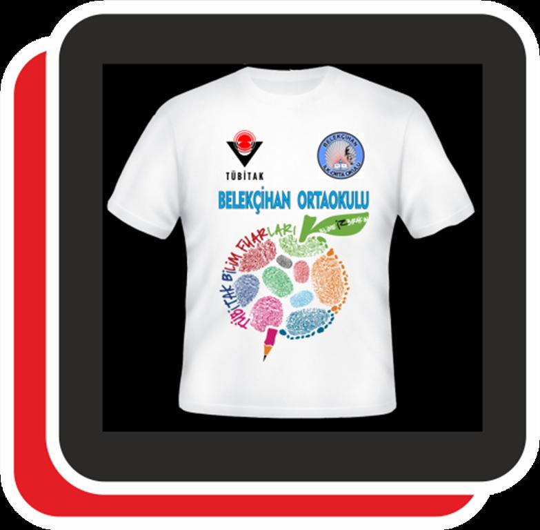 TÜBİTAK Bilim Fuarı etkinliklerinde giyilecek tişörtlerin basımı